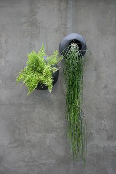 handmade terracotta wall planters