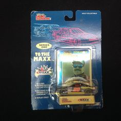 1994 Ernie Irvan Maxx Car Racing Champions Die-Cast Collectible Car #MaxxNASCAR #Ford