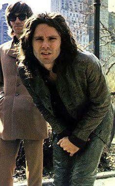 Reunion of Jim Morrison and Ray Manzarek in heaven.