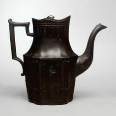 Coffeepot WILLIAM BADDLEY (ENGLISH, ACTIVE C. 1795–C. 1825) CREDIT Gift of the family of Tillie S. Speyer  EASTWOOD POTTERY (ENGLISH, ACTIVE C. 1795–C. 1825) C. 1800
