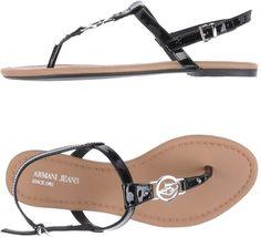 550c83f56 ARMANI JEANS Toe strap sandals Armani Jeans