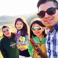 With all my girls. :)  #SummitLake #Alaska