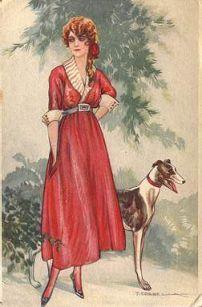 T. Corbella - Greyhound Postcards