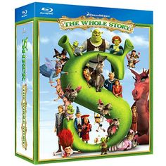 Buy Shrek Boxset - 2018 Artwork Refresh from Zavvi, the home of pop culture. Take advantage of great prices on Blu-ray, merchandise, games, clothing and more! Shrek, Mike Mitchell, John Lithgow, Princess Fiona, Rumpelstiltskin, Eddie Murphy, Blu Ray, Fairy Tales, Cool Things To Buy
