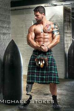 Sexy Wounded warrior