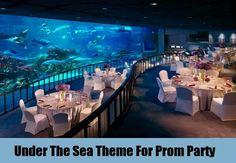 Under the sea prom theme