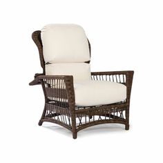 Bar Harbor Outdoor Wicker Morris Chair by wicker stylish like a wicker sofa.