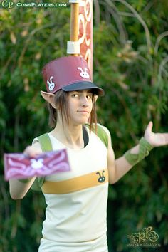Ocarina of Time cosplay