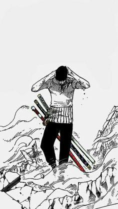 please it's so epic Roronoa Zoro, Manga Anime One Piece, Manga Art, One Piece Tattoos, One Piece Wallpaper Iphone, One Piece Series, One Piece Drawing, Zoro One Piece, One Piece Pictures