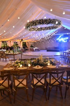 Wedding tent decor and lighting. Cute Wedding Ideas, Wedding Goals, Perfect Wedding, Wedding Planning, Event Planning, Tent Wedding, Our Wedding, Wedding Venues, Dream Wedding
