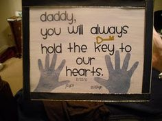 Father's Day is right around the corner... I may steal this idea.