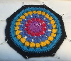 Ravelry: Gothic Windows Throw pattern by Julie Yeager