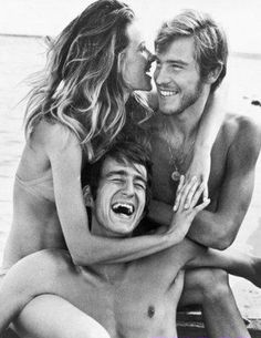 Charlotte Rampling, Sam Waterston and Robie Porter in THREE, 1969