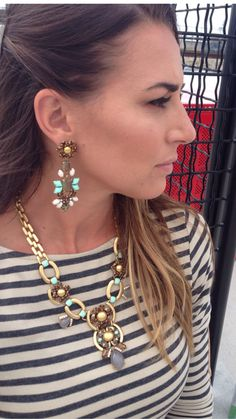 Stella & Dot Fall line. Loving the Livvy necklace and Melanie Chandeliers www.stelladot.com/sites/presleyblalock