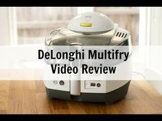 Delonghi Multifry Multicooker Video Review: chips with everything
