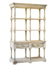 Another great find on #zulily! Cream Country Shelf #zulilyfinds Toy Room Storage, Bookcase White, Etagere Bookcase, White Shelves, Bookcase Shelves, Shelf, Vintage Wood, Vintage Style, Vintage Vibes
