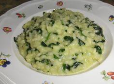 Risotto con spinaci e taleggio