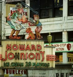 Howard Johnson's, the Very Best Place for Our Family Style Dinner's Out in New York and Connecticut . . . . From My Childhood Memories, the Best Croquettes, the Best Orange Sherbet, the Best Fried Chicken & Fish Dinners   <3