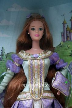 Barbie Doll Princess | Barbie Princess and The Pea Doll | eBay