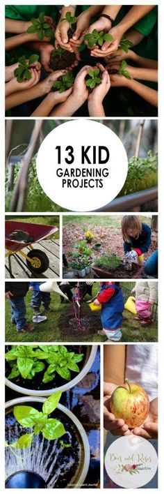 13 Kid Gardening Projects