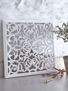 Carved Wall Panel - Design 1 WM