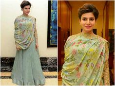 Samantha Ruth Prabhu Kills The Monday Blues In A Ridhi Mehra Outifit.