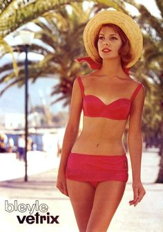 Bleyle beach fashion, 1956
