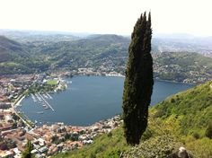 Como and its lake from Brunate.