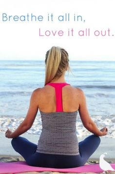 Breathe it all in, Love it all out. #ThomasKelly #Malaga Mix #Ladera Leggings