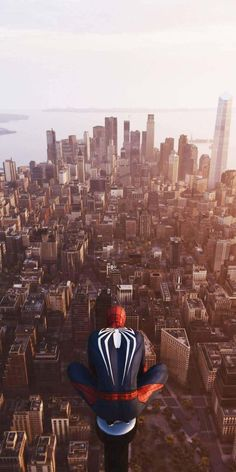 Spider Man In New York IPhone Wallpaper - IPhone Wallpapers