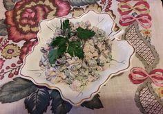 Салат. Фасоль с ветчиной и петрушкой. | Рецепты из холодильника