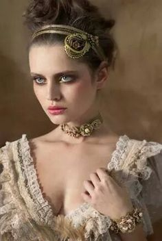Photographed by Guli Cohen for Michal Negrin ~ Vixen Victorian Jewelry Collection 2011