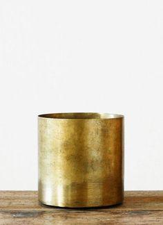 brass pot | Artilleriet | Inredning Göteborg