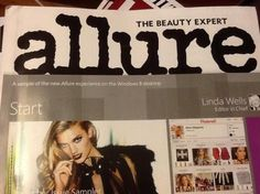I'm learning all about Allure Magazine  at @Influenster!