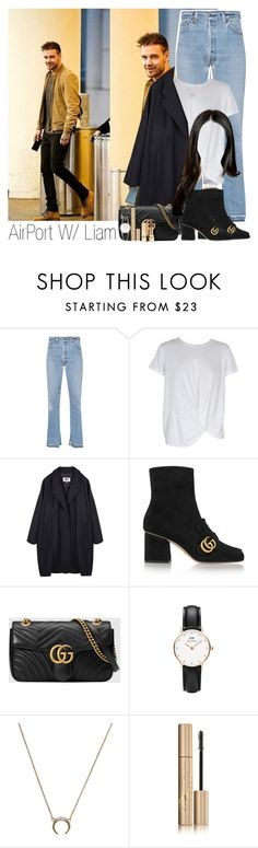 """""""Limse"""" by idaln ❤ liked on Polyvore featuring RE/DONE, MINKPINK, MM6 Maison Margiela, Gucci, Daniel Wellington, Stila, Yves Saint Laurent, OneDirection, LiamPayne and onedirectionoutfits"""