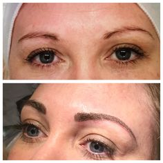 A lovely client with her new 3D hair stroke brows