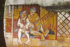 Asuncion. Very next from La Chacarita, shanty town.