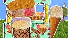 Een vrolijk liedje uit HoelaHoep over ijs in alle smaken. Zing je mee?