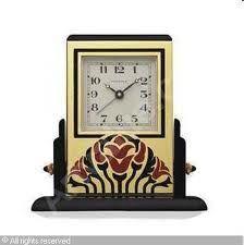 Art Deco pendulette Cartier - Paris - clock