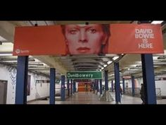 (48) SPOTIFY - DAVID BOWIE IS HERE - CANNES LIONS 2018 (Cade Study) - YouTube Best Of David Bowie, New York, Street Culture, Music Publishing, Science And Technology, Cannes, Pop, Lions, Study