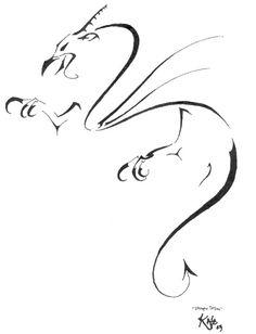 Dragon Tattoo--Kasukure by ~angeleve on deviantART