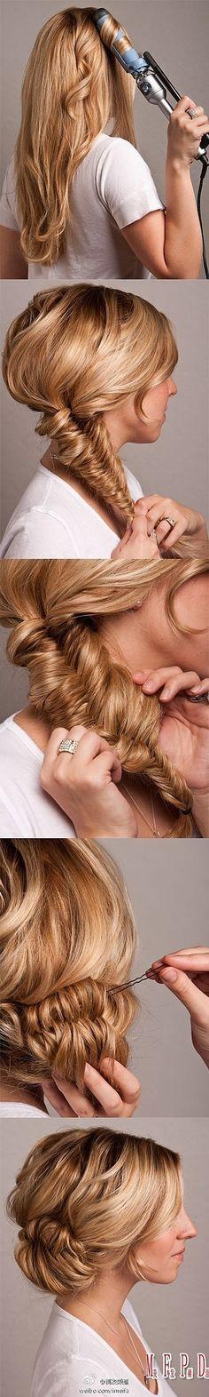 Hermoso peinado y ademas super sencillo