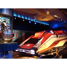 R2, Full power! -C3PO.  Only at Star tours.