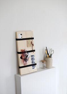 DIY Memo Board @themerrythought