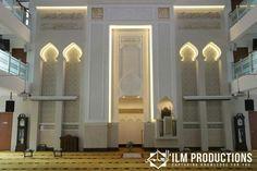 Mujahidin Mosque Singapore Mosque Architecture, Religious Architecture, Interior Architecture, Dubai Design Week, Beautiful Mosques, Arabic Design, Interior Concept, Moroccan Decor, Architect Design