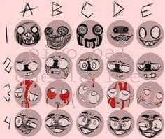 Image result for face expressions reference