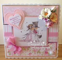 LOTV - True Love Art Pad with Romance and Roses Paper Pad by Kelly Lloyd