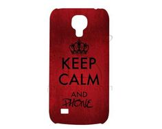 Cover Samsung Galaxy s4 mini stampa3D keep calm