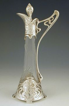 German Cut Glass Liqueur, WMF c.1906.