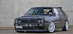 Pay your respects to honor one of the greatest homologized rally machines of all time-- the 1990 Lancia Delta Integrale - Modified Magazine Maserati, Ferrari, Bugatti, Rally Car, Car Car, Retro Cars, Vintage Cars, Mopar, Lancia Delta Integrale